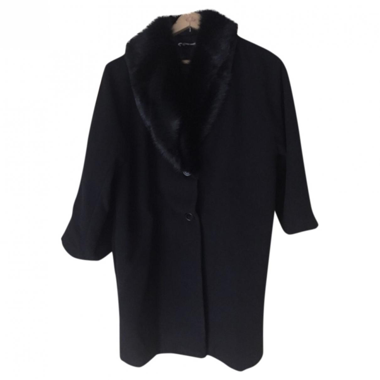 - Manteau Oversize pour femme - noir