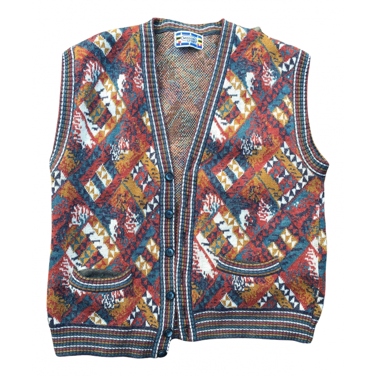 Missoni N Multicolour Wool Knitwear & Sweatshirts for Men L International