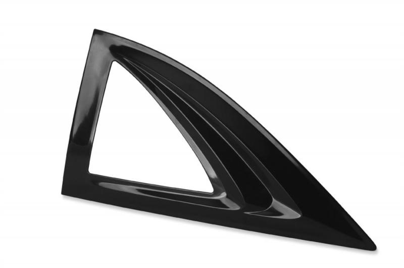 AVS 83226 Aeroshade Side Window Covers 2pc - Black Chevrolet Silverado 1500 1999-2007