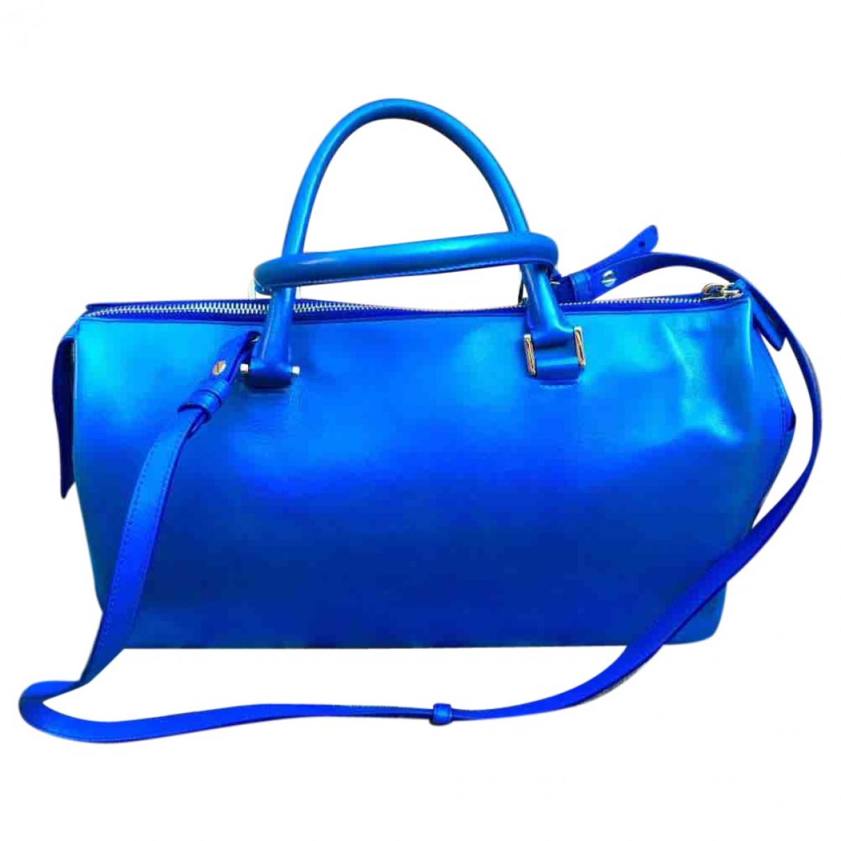 Jil Sander \N Blue Leather handbag for Women \N