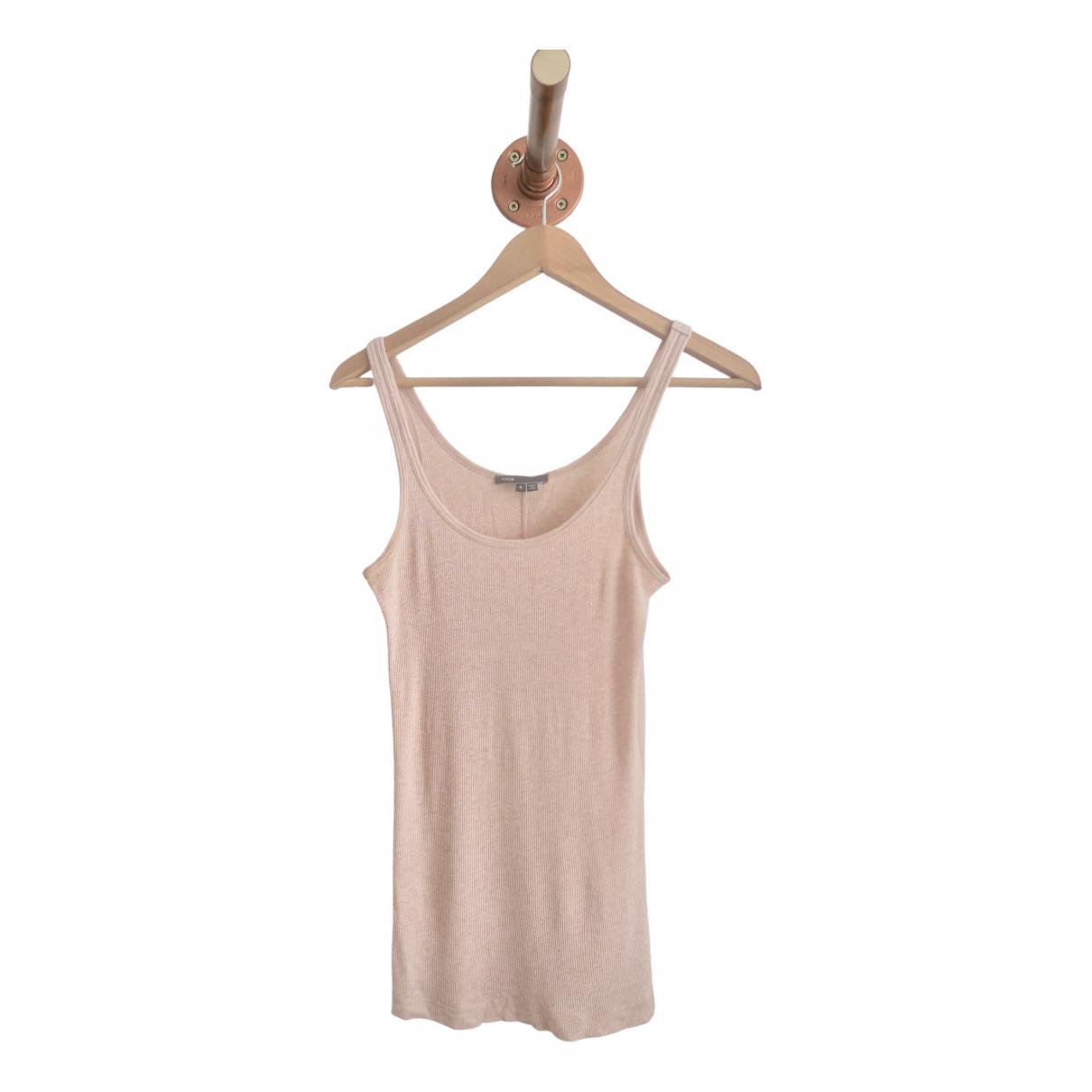 Vince - Top   pour femme en coton - rose