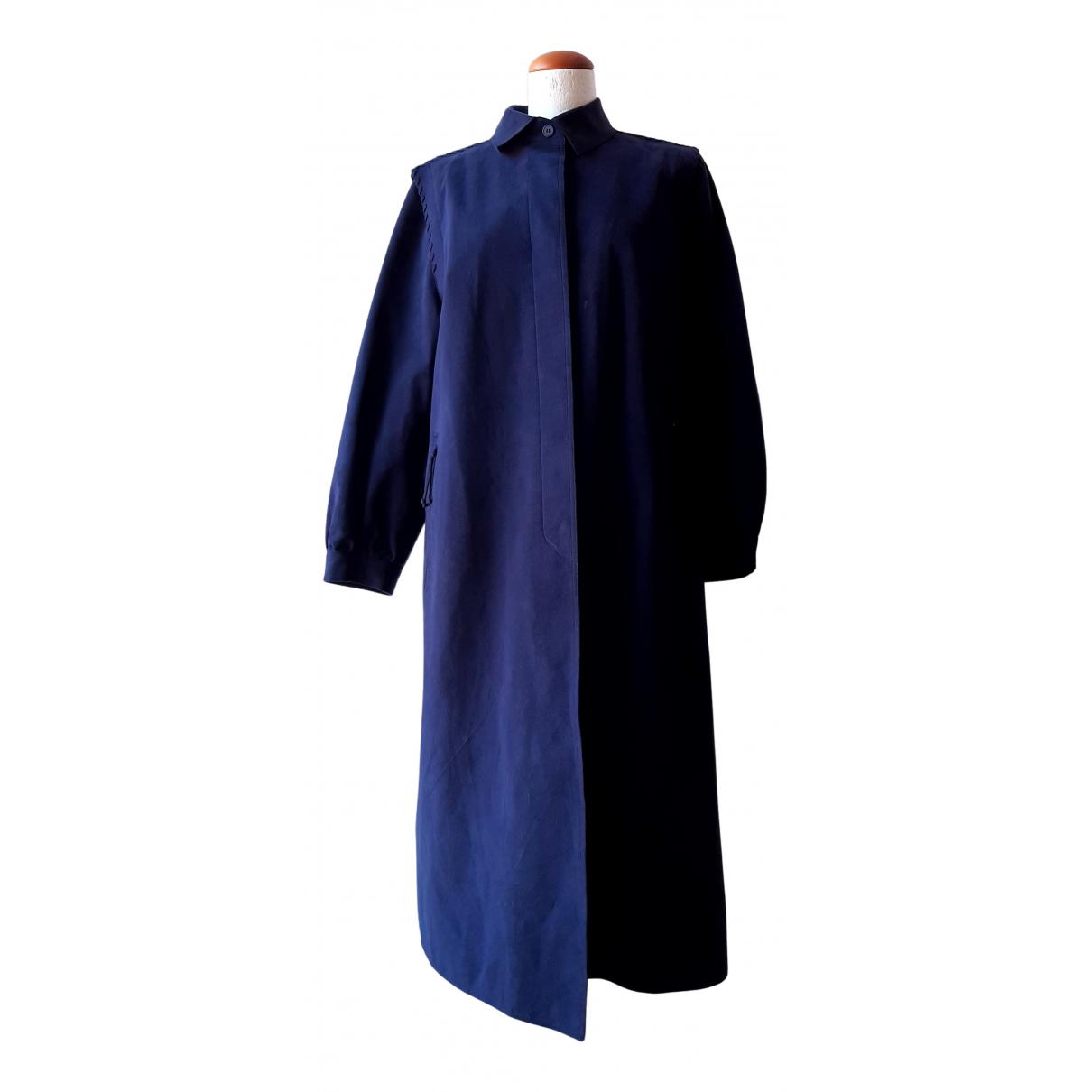 - Manteau   pour femme - marine