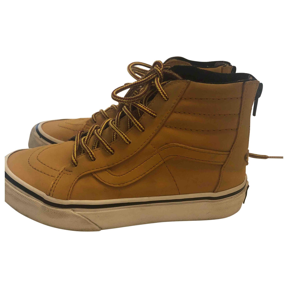 Vans \N Leather Trainers for Kids 32 EU