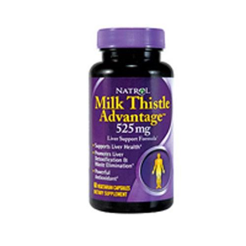 Milk Thistle Advantage 60 Tabs by Natrol