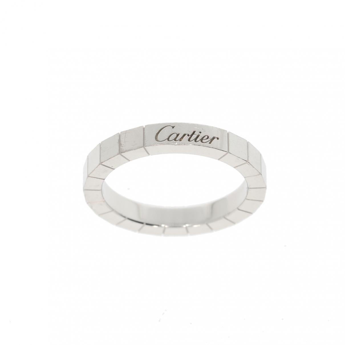 Cartier - Bague Lanieres pour femme en or blanc - argente
