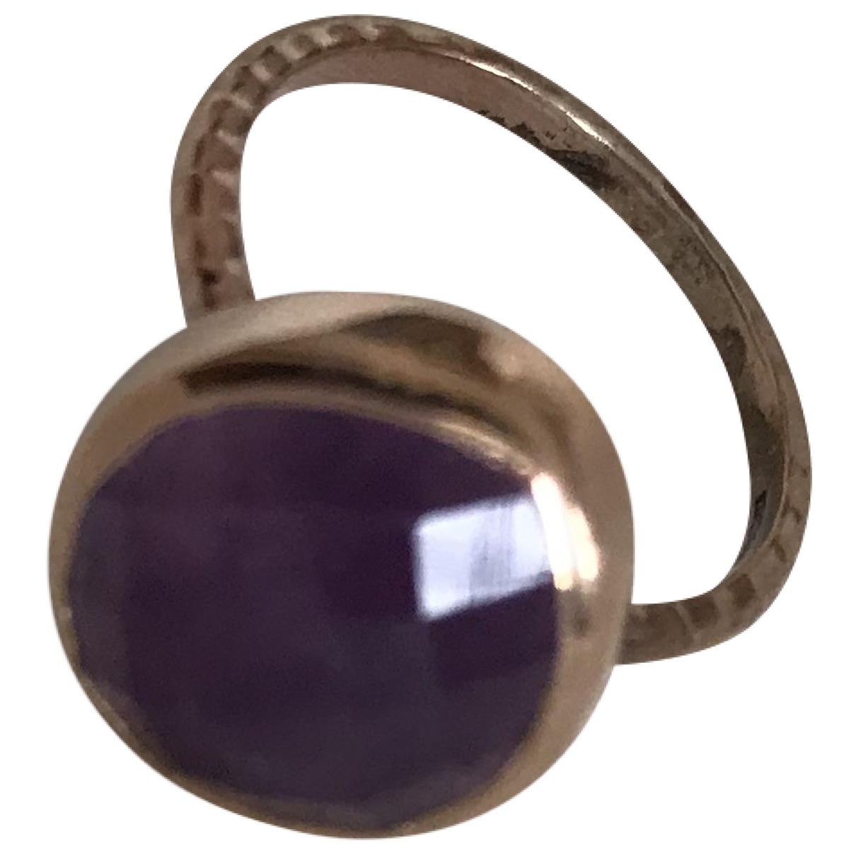 Monica Vinader \N Purple Gold plated ring for Women \N