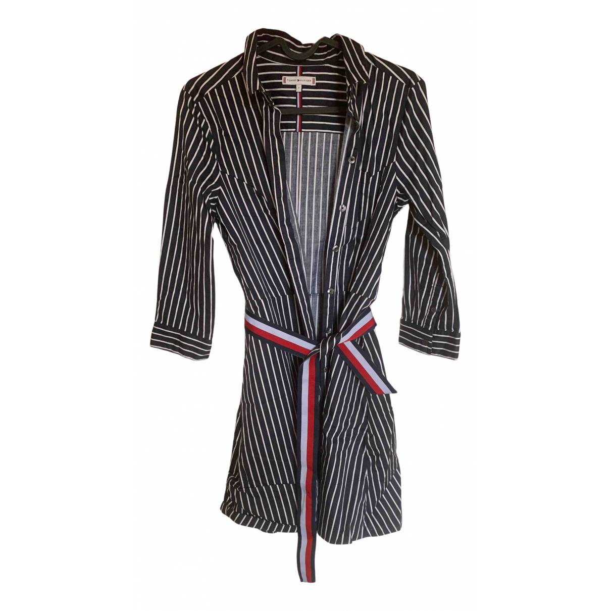 Tommy Hilfiger \N Blue Cotton dress for Women 4 UK