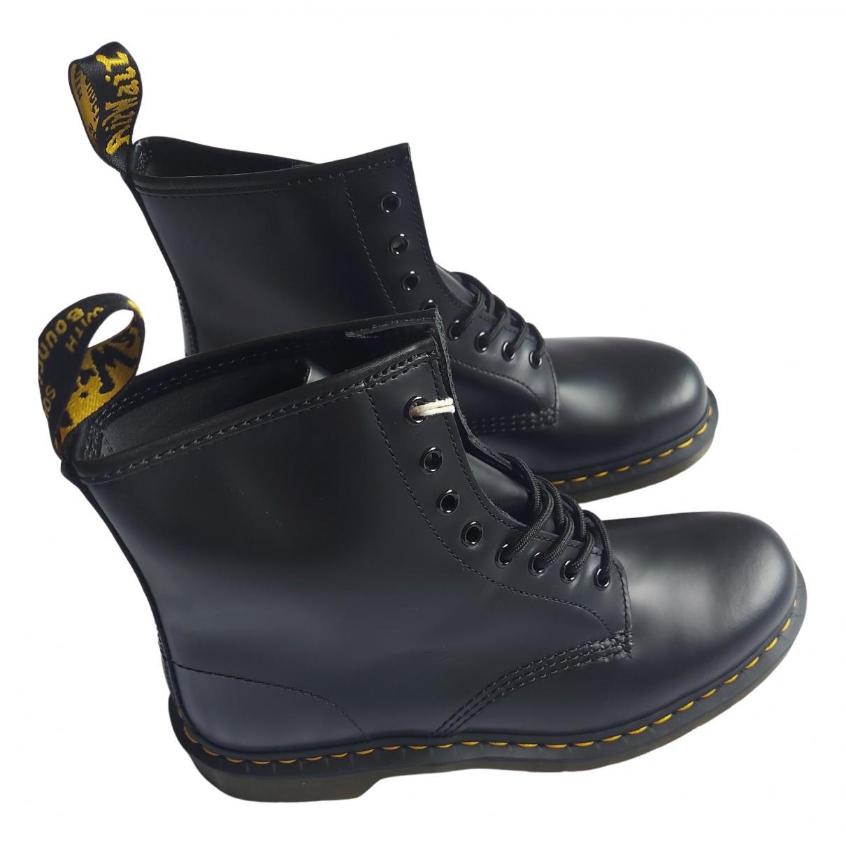 Dr. Martens N Black Leather Boots for Men 44 EU