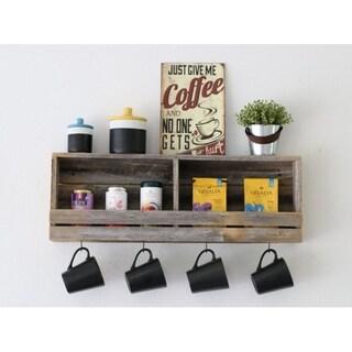 Slatted Tea Shelf (Natural)