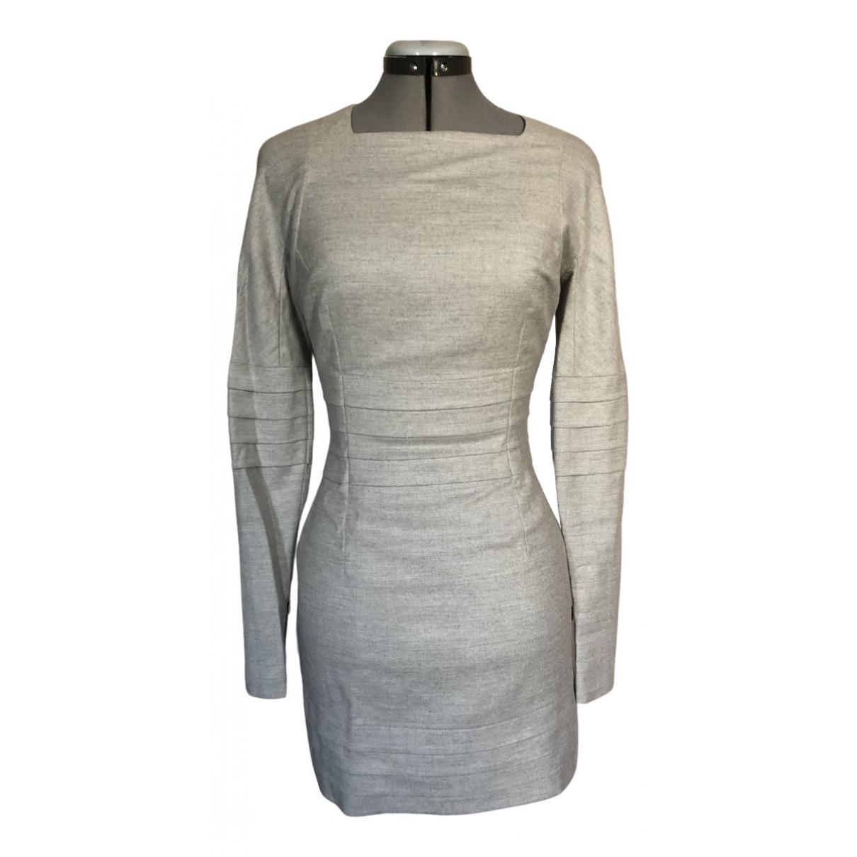 Jil Sander - Robe   pour femme en coton - gris