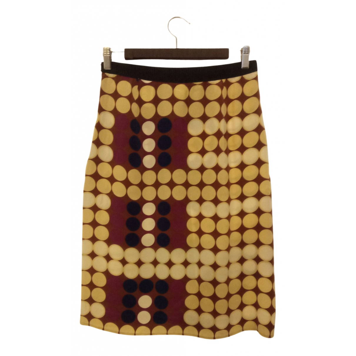 Marni - Jupe   pour femme en soie - multicolore
