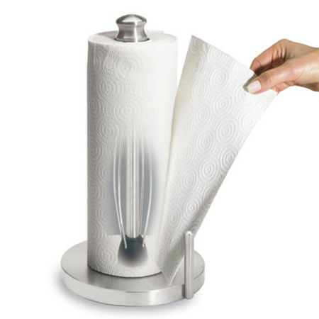 Perfect Tear Stainless Steel Paper Towel Holder, One Size , Multiple Colors