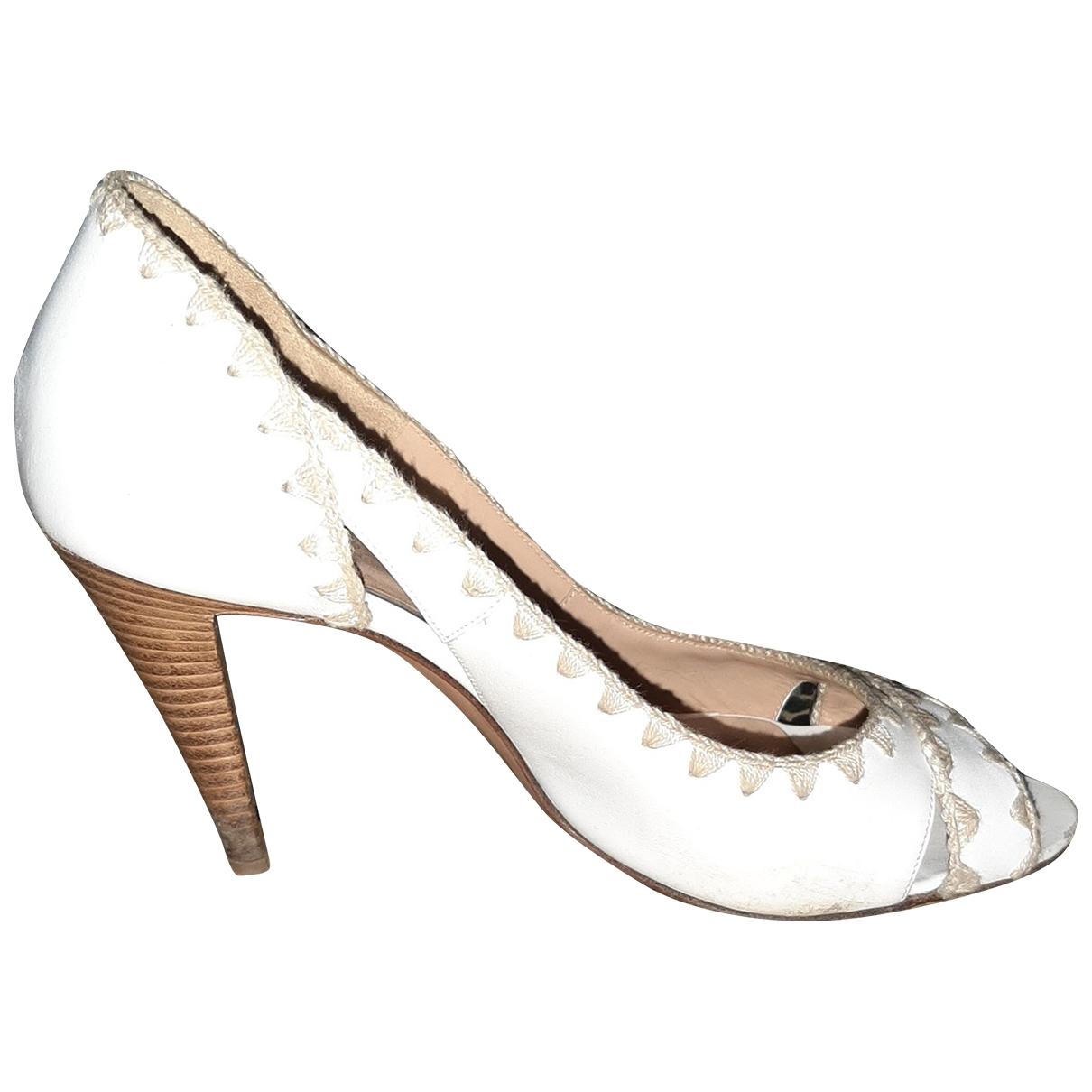 Sandalias de Cuero Sergio Rossi