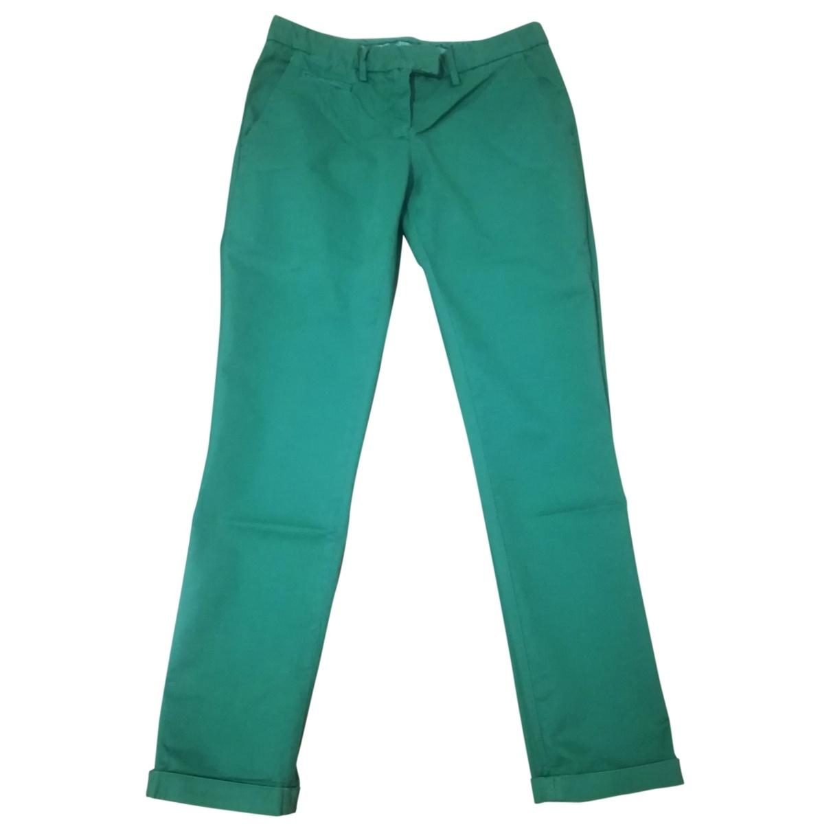 Patrizia Pepe - Pantalon   pour femme en coton - vert