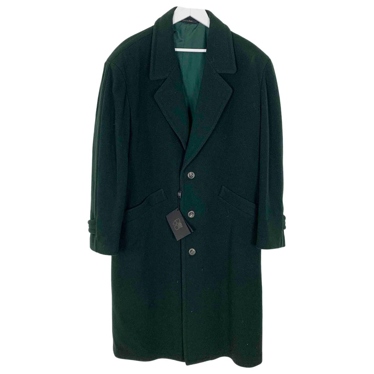 - Manteau Oversize pour femme en laine - vert