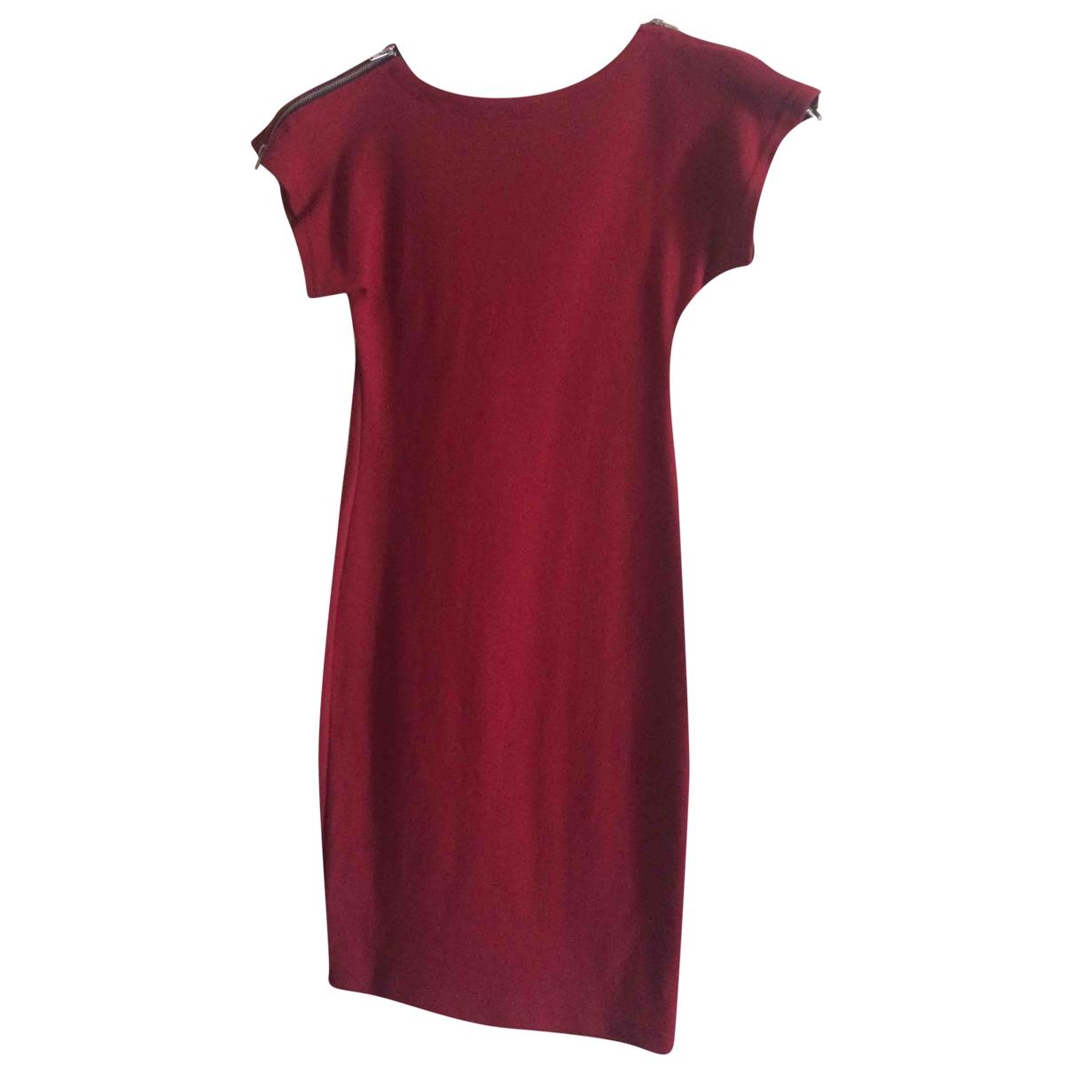 American Apparel \N Kleid in  Rot Baumwolle