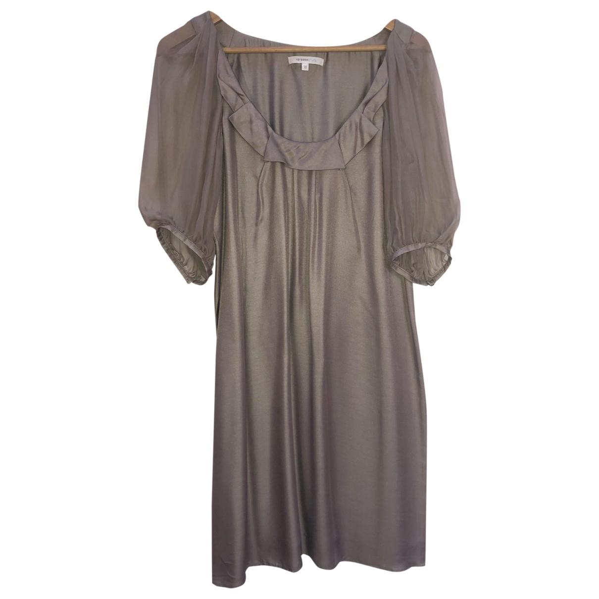 Vanessa Bruno \N Kleid in  Grau Synthetik