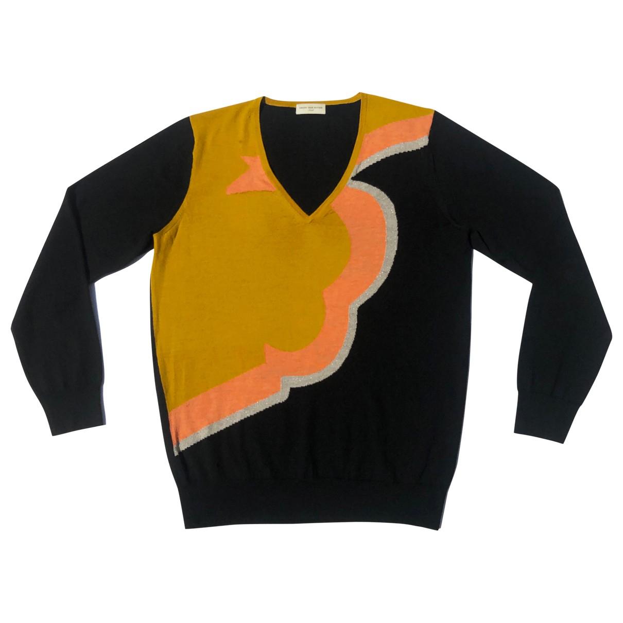 Dries Van Noten - Pull   pour femme en laine - multicolore