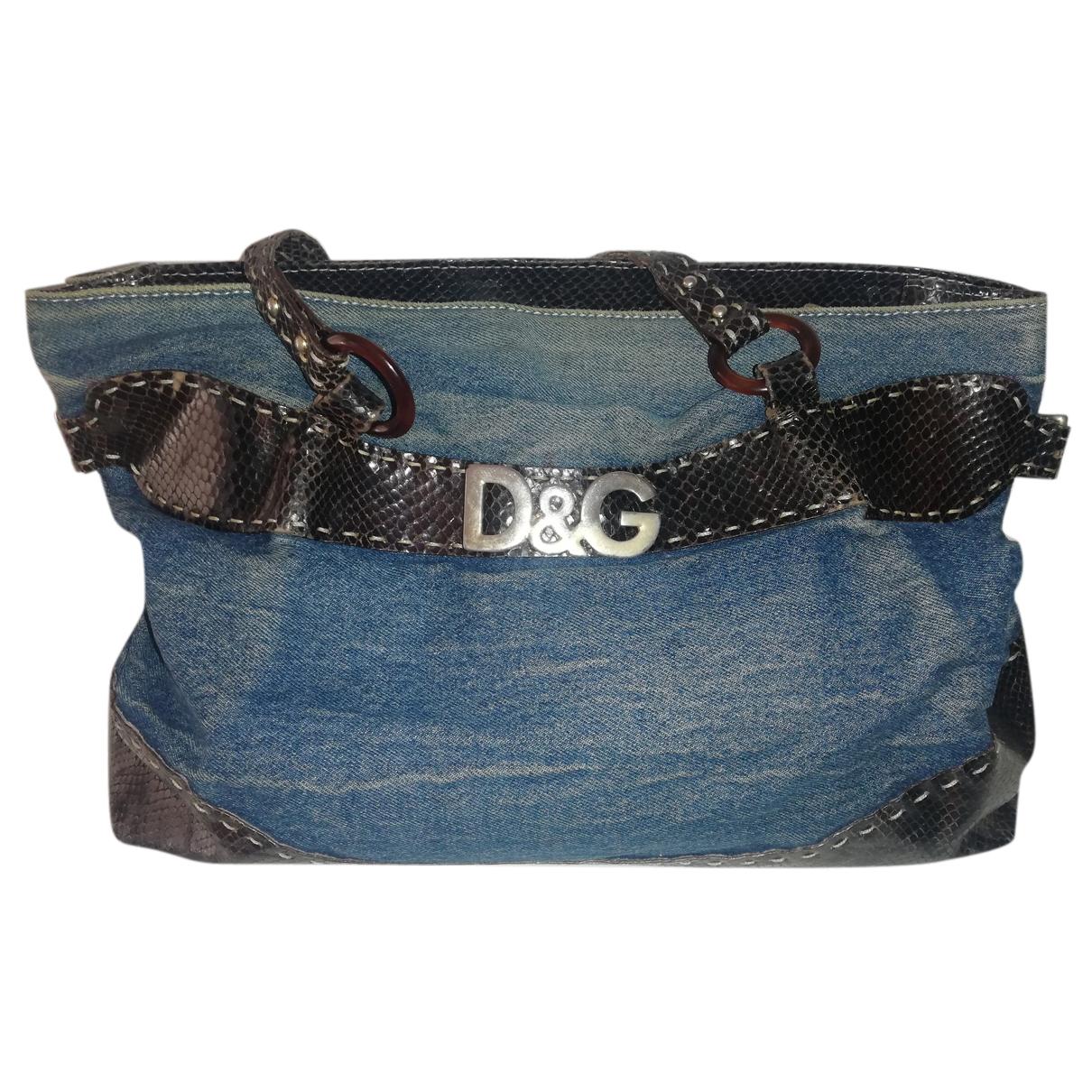 D&g N Denim - Jeans handbag for Women N