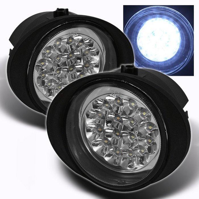 Spyder CHROME LED FOG LIGHTS NISSAN MURANO 03-05 / INFINITI FX35/45 03-06