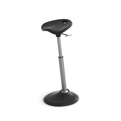 Mobis® Seat, Support Leaning & Pivoting Seat Leg, Black