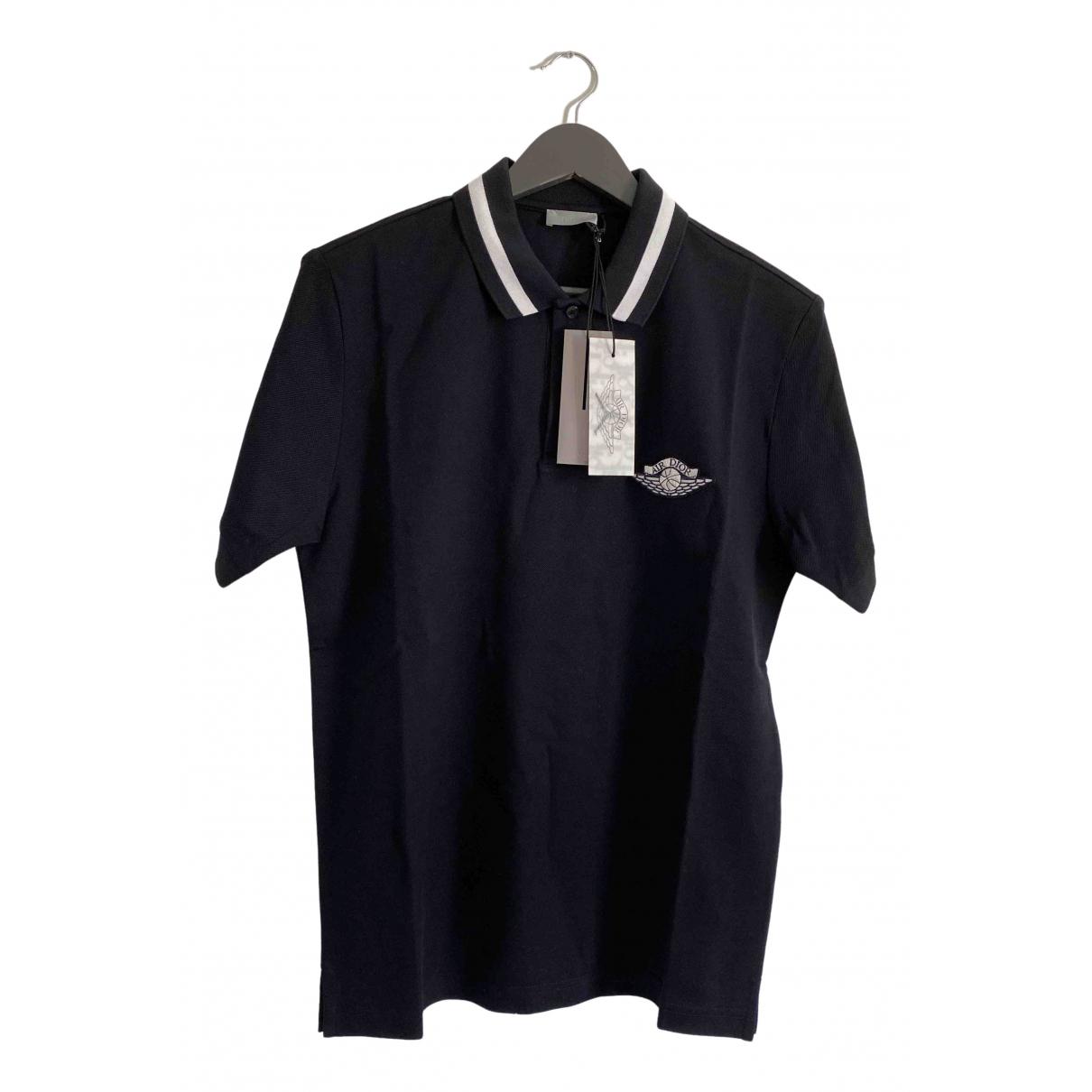 Jordan X Dior \N Poloshirts in  Blau Baumwolle