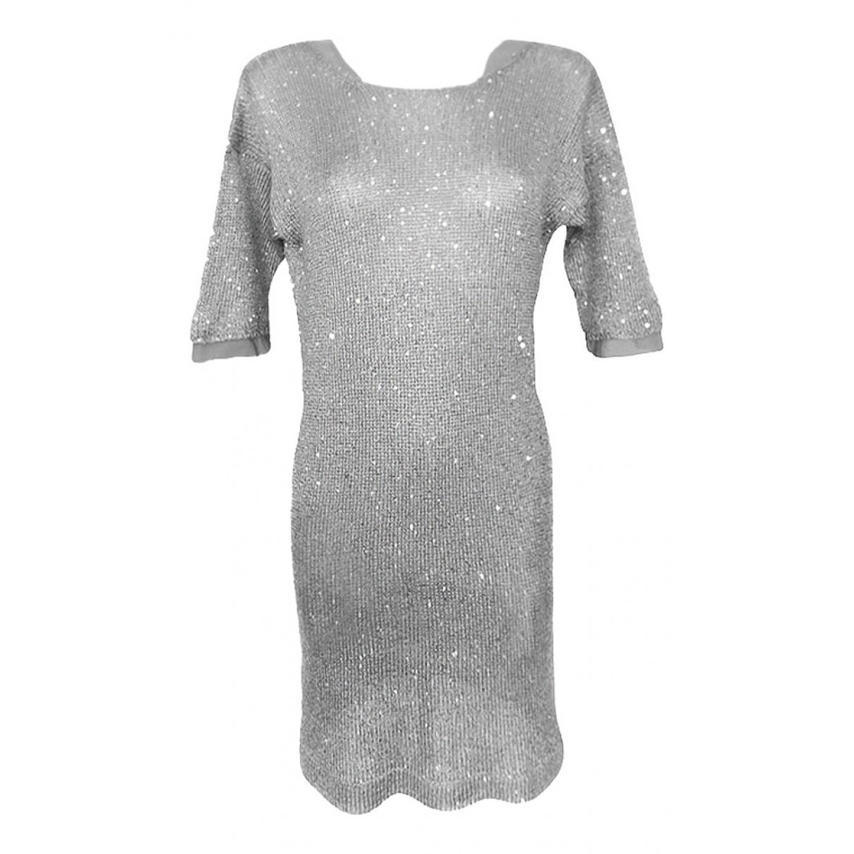 Stefanel \N Silver dress for Women L International