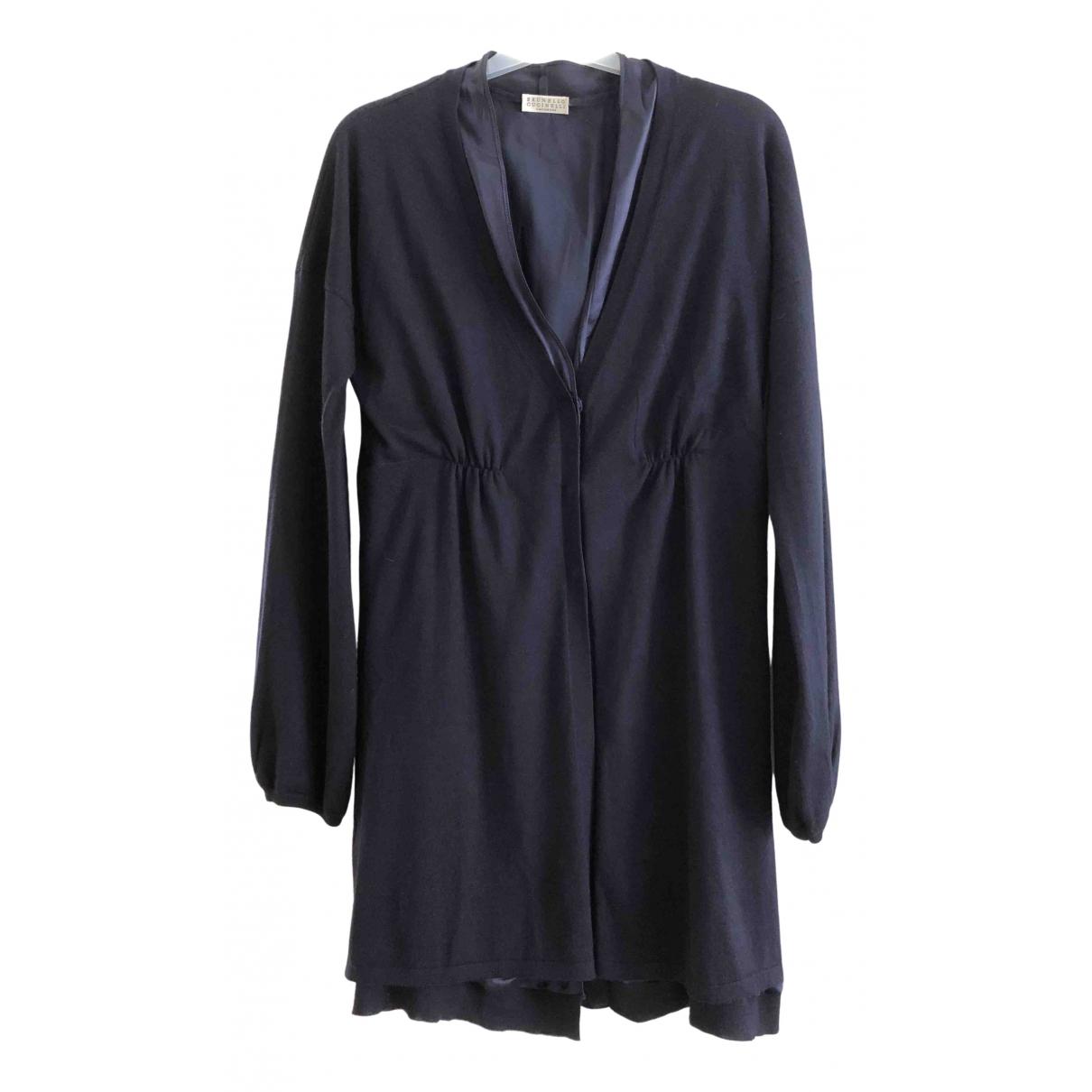 Brunello Cucinelli \N Navy Cashmere Knitwear for Women M International