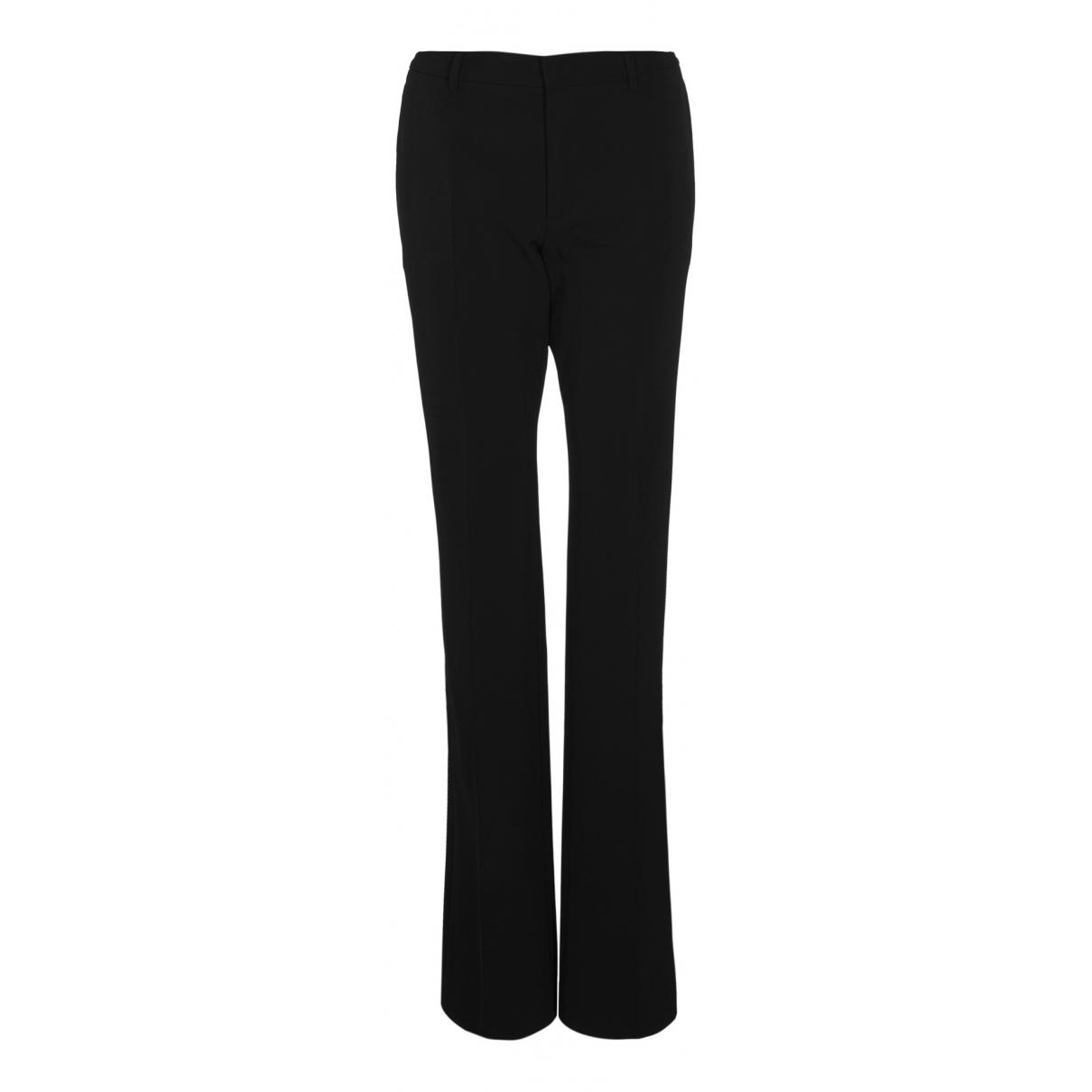 Prada N Black Trousers for Women 12 UK