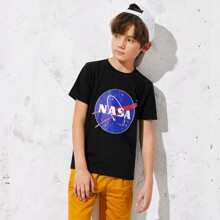 Jungen T-Shirt mit Grafik Muster