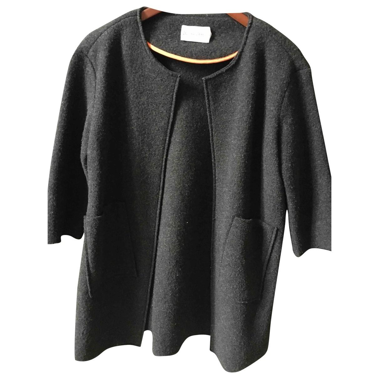 Zadig & Voltaire \N Grey Wool coat for Women S International