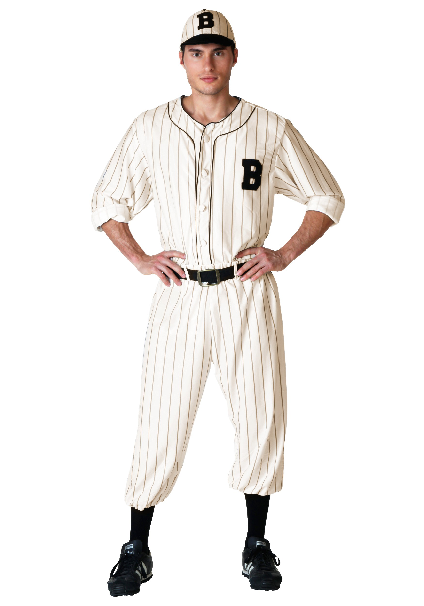 Vintage Baseball Costume for Men   Sport Halloween Costume