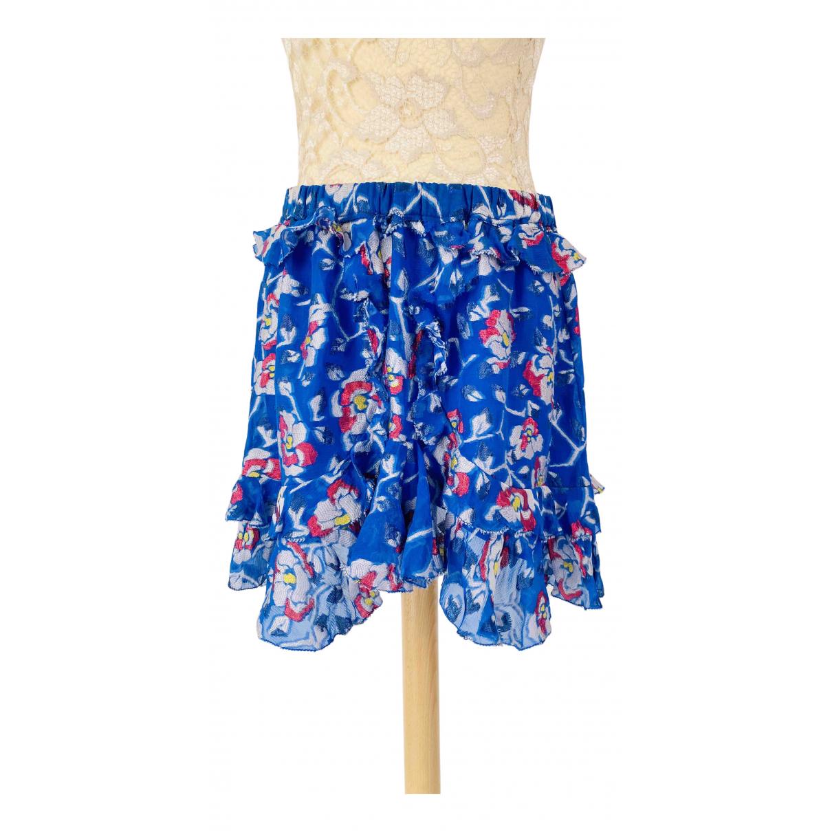 Isabel Marant \N Blue Silk skirt for Women 38 FR