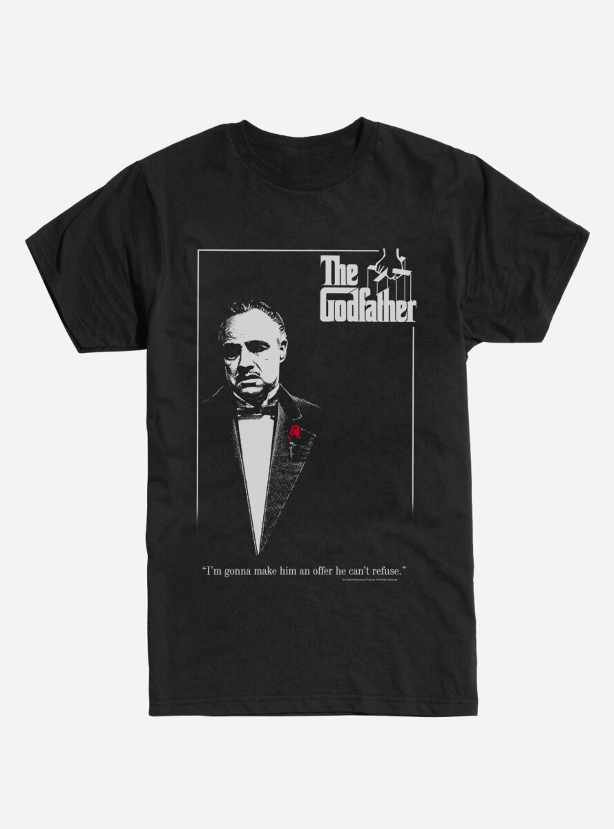 The Godfather Poster T-Shirt