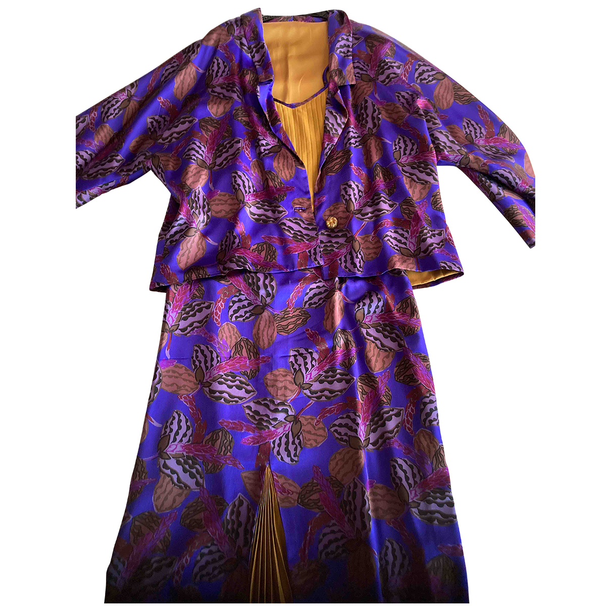 Tres Chic Sartorial \N Multicolour Silk jacket for Women 46 IT