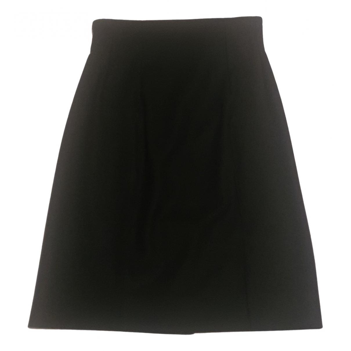 Yves Saint Laurent N Black Wool skirt for Women 38 FR