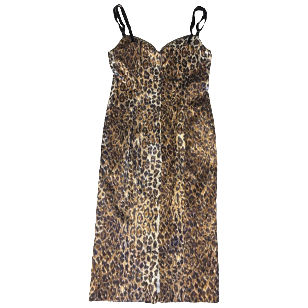 D&g \N Kleid in  Braun Baumwolle