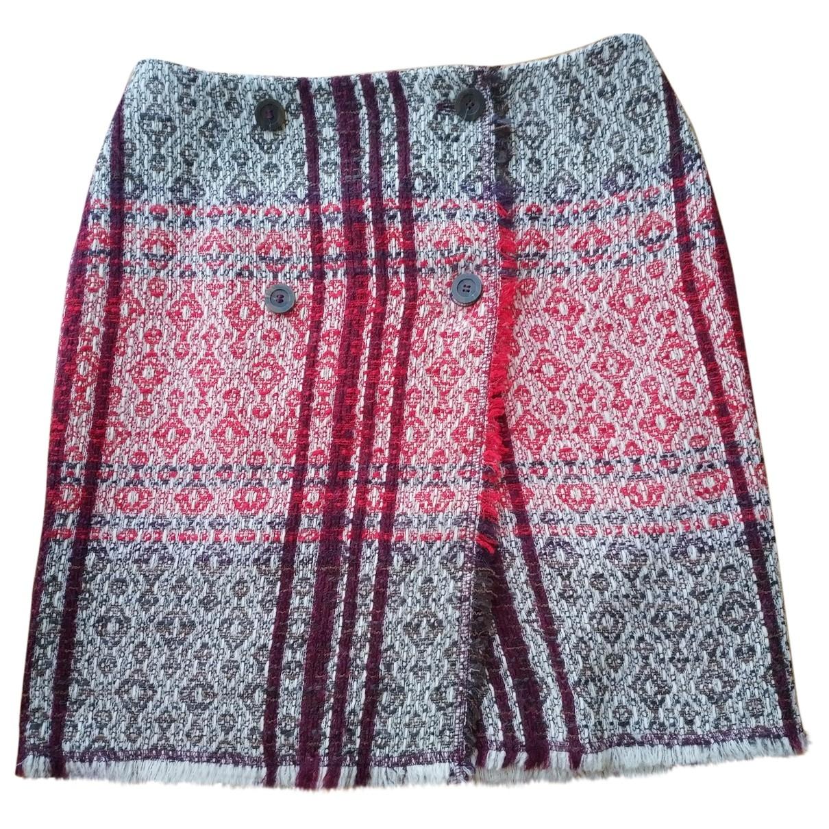 Escada \N Multicolour Wool skirt for Women 36 FR