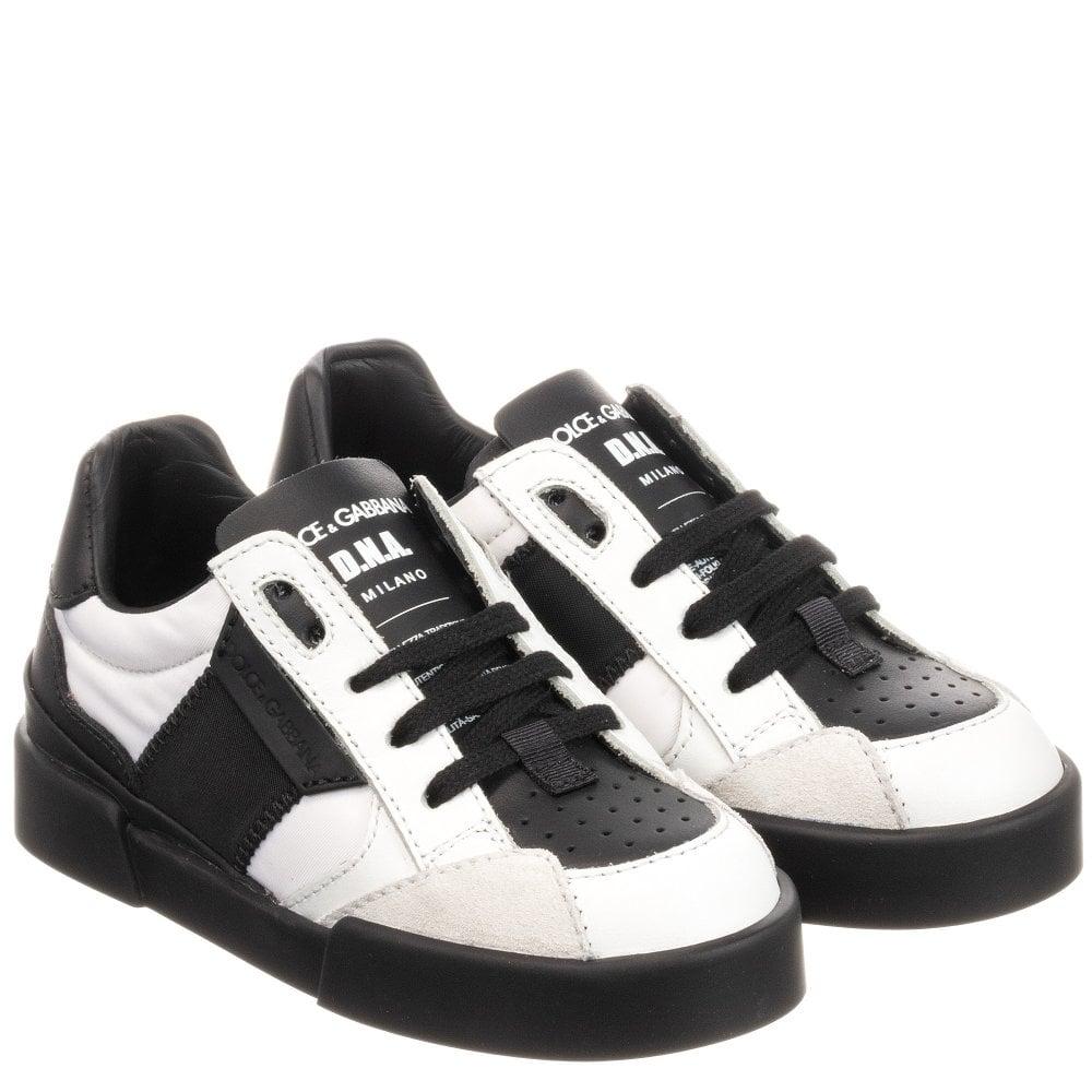 Dolce & Gabbana Kids D.N.A. Trainers Size: EU35, Colour: WHITE