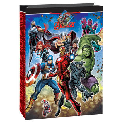Avengers 1 Jumbo Gift Bag Pour la fête d'anniversaire