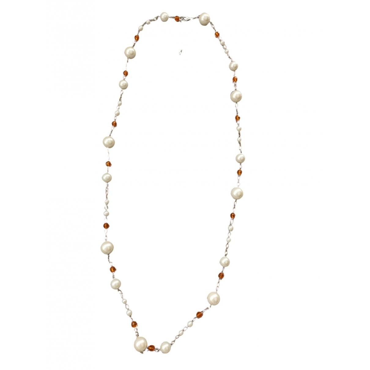 - Sautoir   pour femme en perles - multicolore