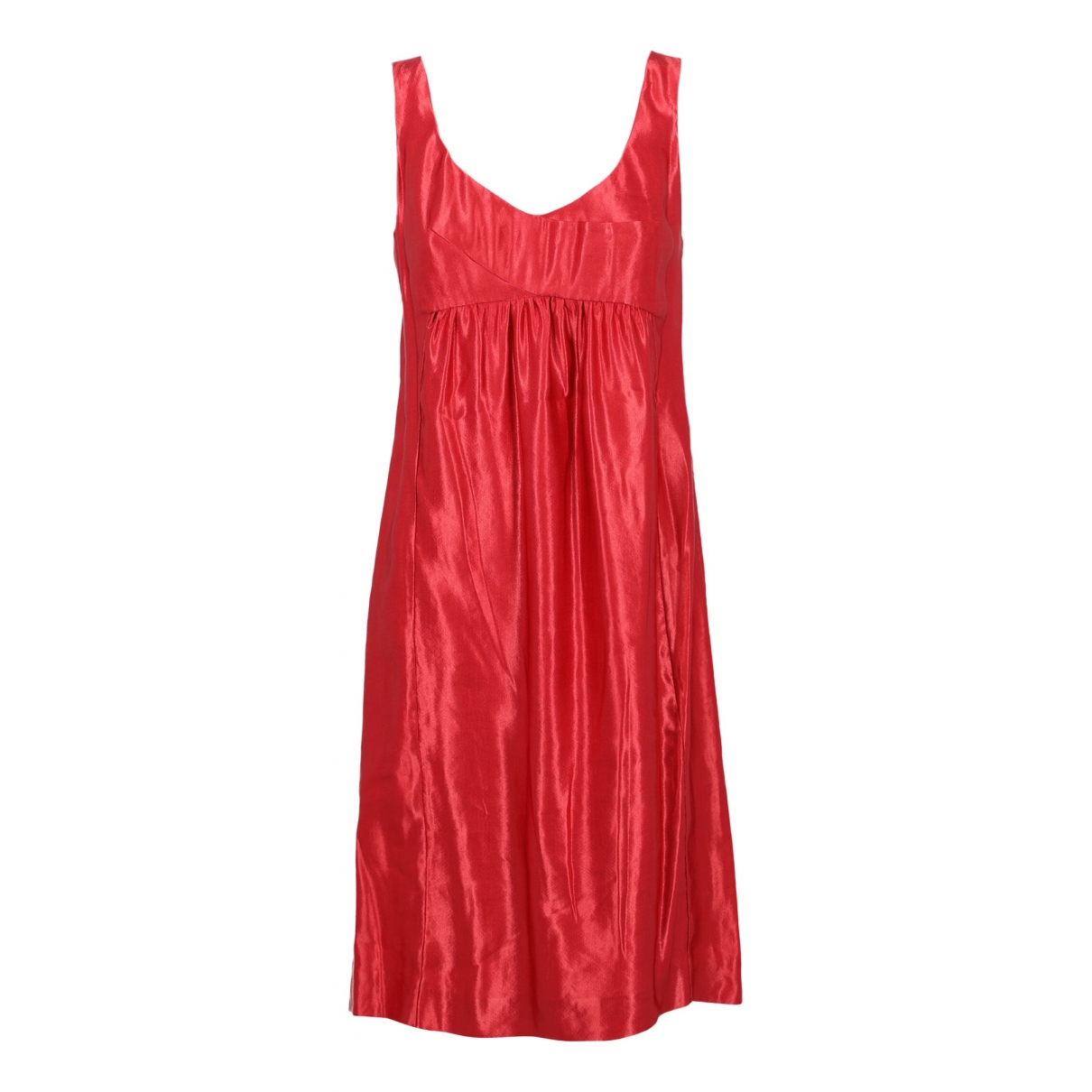 Aspesi \N Kleid in  Rot Synthetik