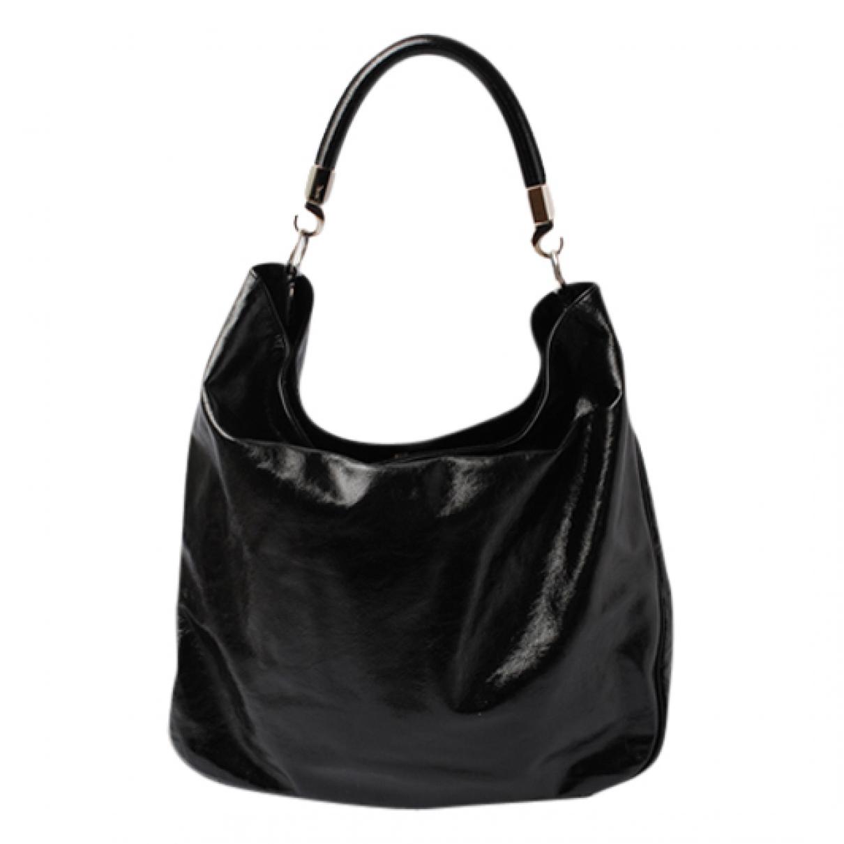 Yves Saint Laurent Roady Black Patent leather handbag for Women \N