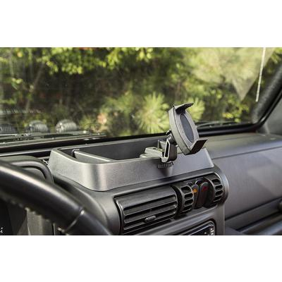 Rugged Ridge Dash Multi-Mount Phone Kit (Black) - 13551.19