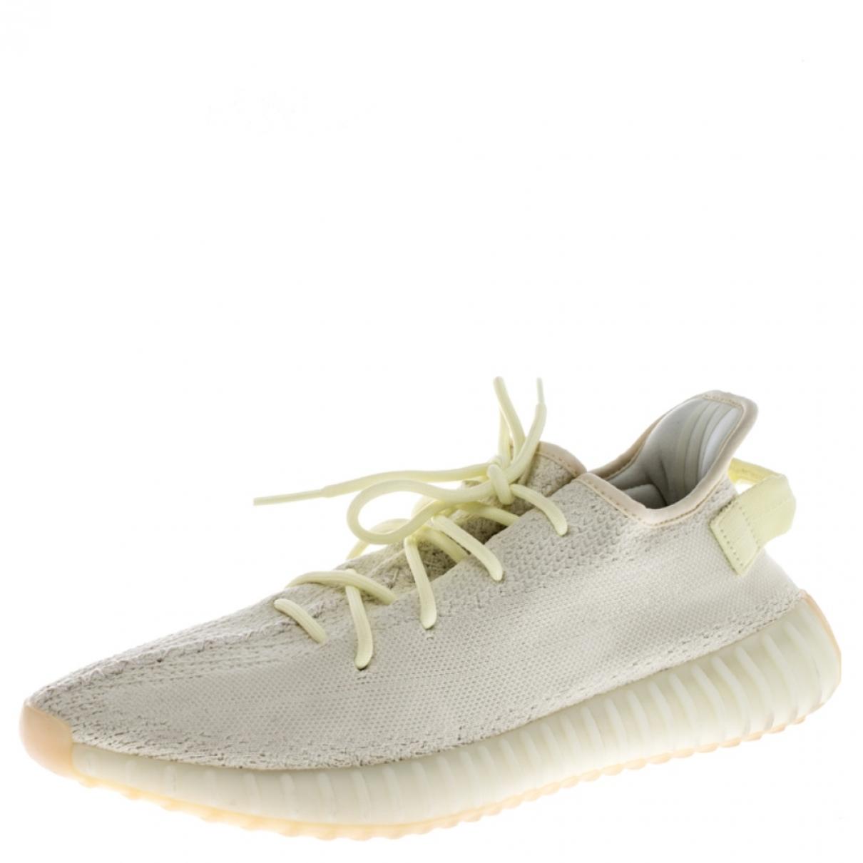 Yeezy X Adidas - Mocassins Boost 350 V2 pour homme en coton - jaune