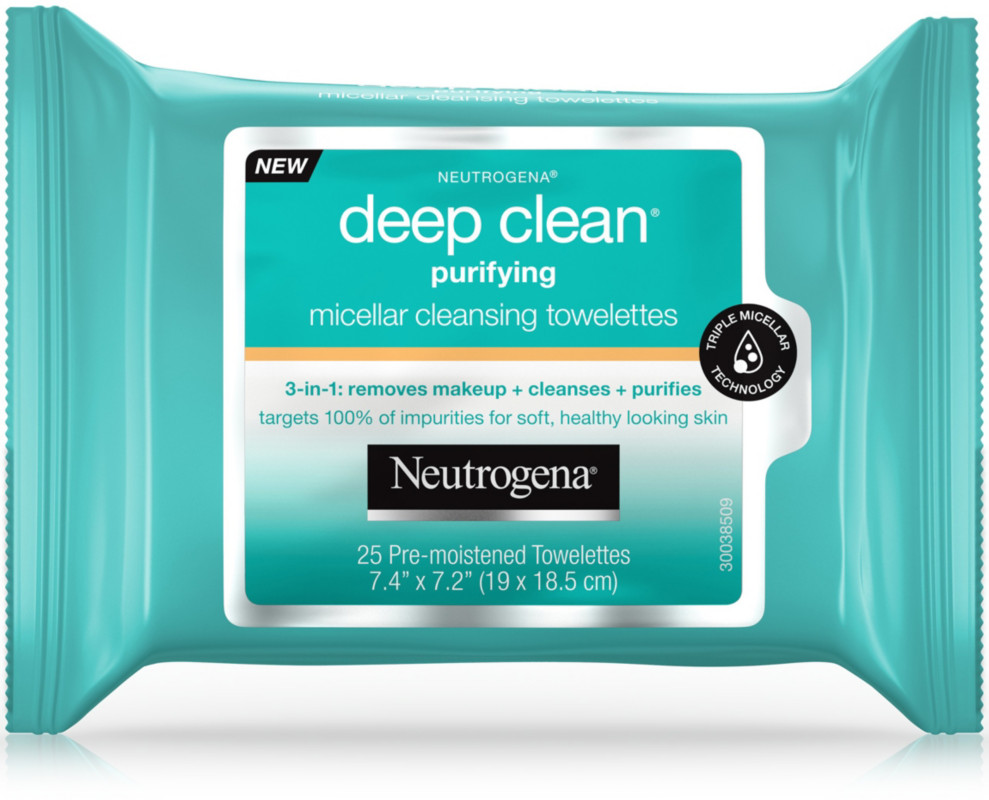 Deep Clean Purifying Micellar Towelettes