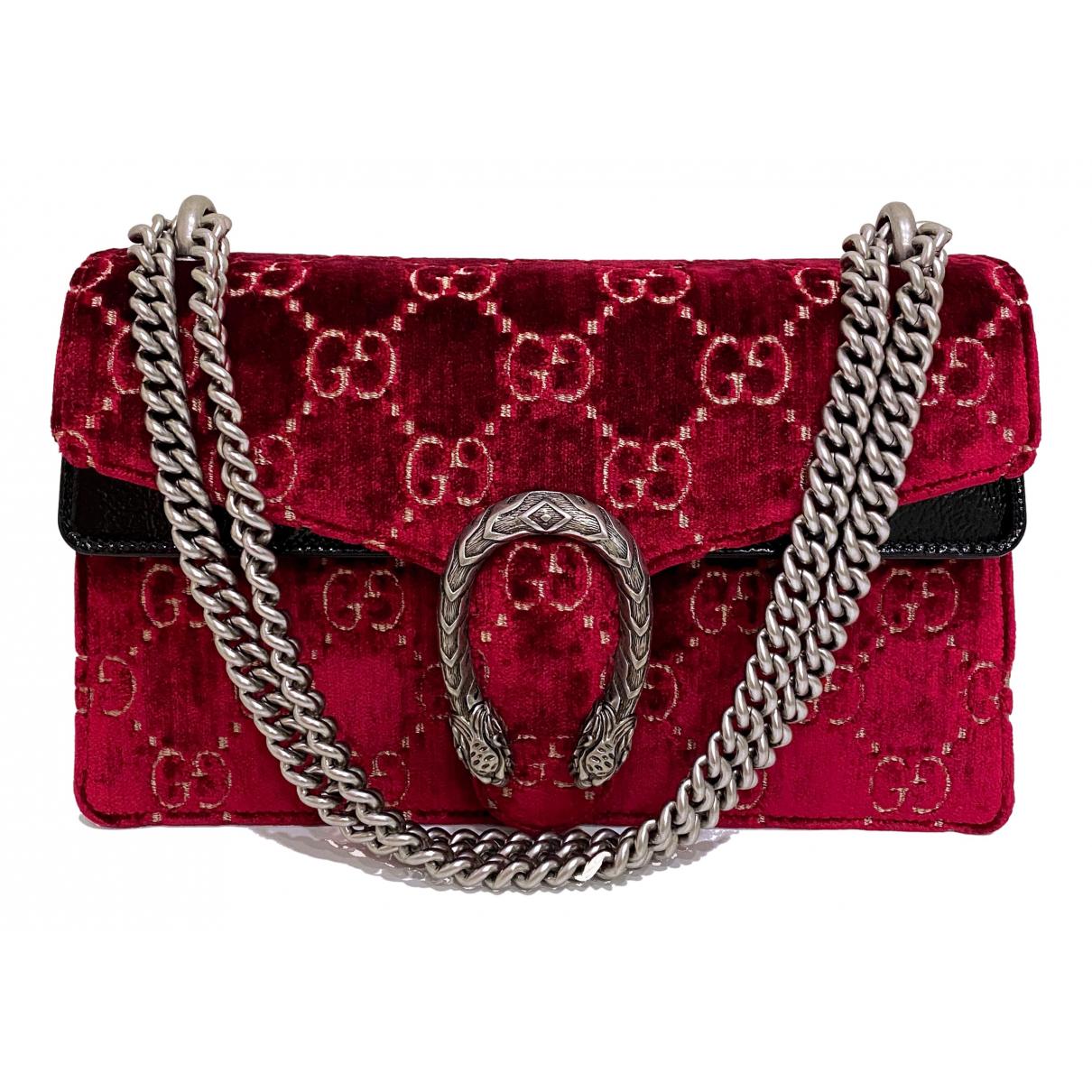 Gucci - Sac a main Dionysus pour femme en velours - rouge