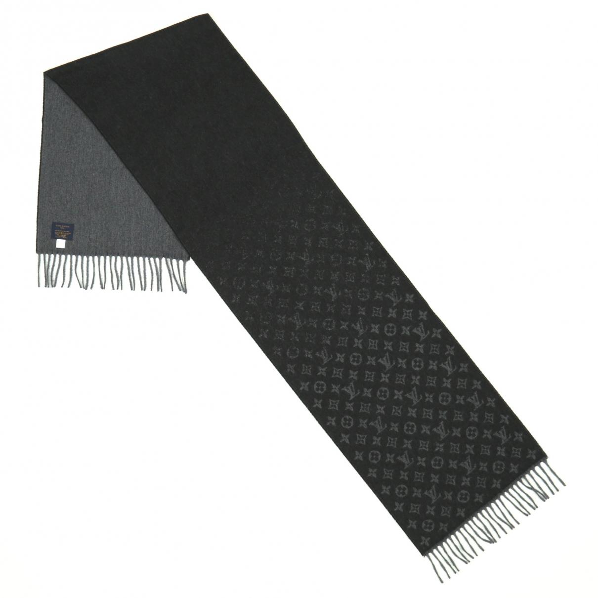 Louis Vuitton \N Schal Grau