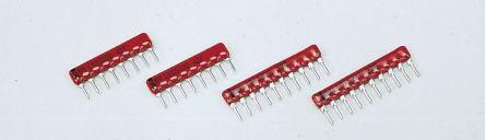 Caddock Voltage Divider Resistor Network 1 kΩ, 9 kΩ, 9 MΩ, 90 kΩ, 900 kΩ ±0.1% 5 Resistors,
