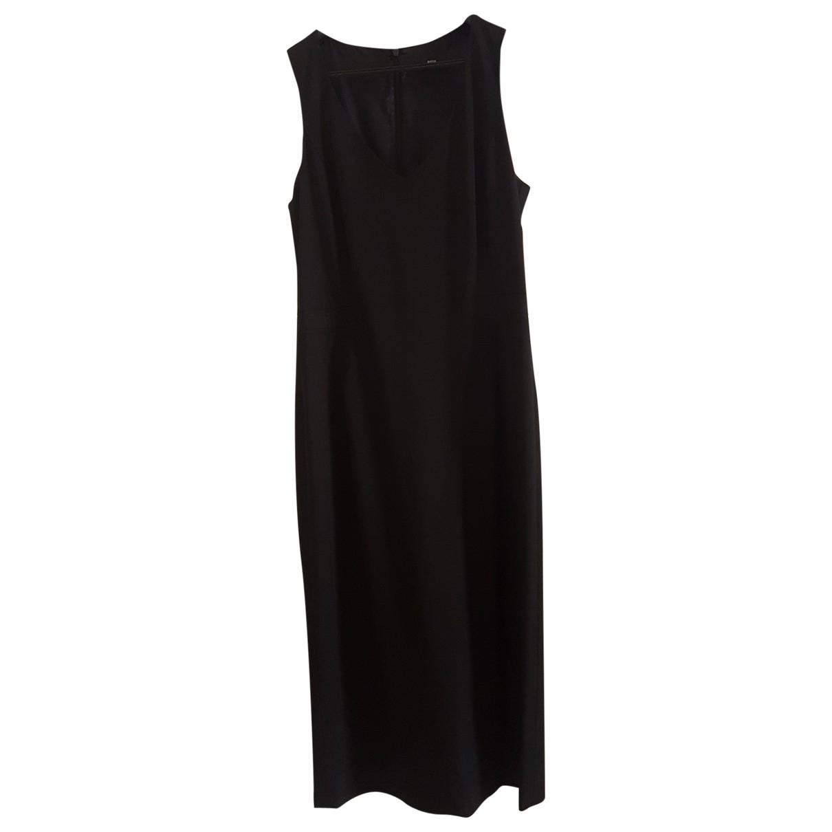 Boss - Robe   pour femme en laine - noir
